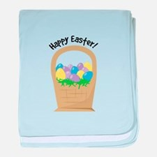 Happy Easter baby blanket