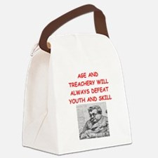 i love card games Canvas Lunch Bag