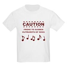 Funny Singing T-Shirt
