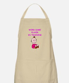 i love word games Apron