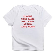 i love word games Infant T-Shirt