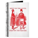 Masons meet on the level-Red Journal