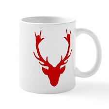 Reindeer with I Love You hand gesture Mugs