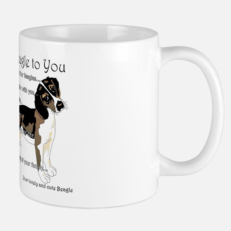 A Beagle's Letter To You Mugs