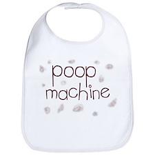 Poop Machine Bib