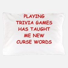 i love trivia Pillow Case