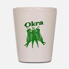 Okra Shot Glass