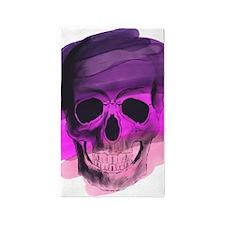 Purple Skull Area Rug