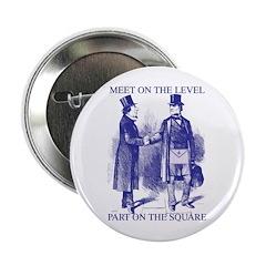 Meeting On the Level - Masonic Blue 2.25