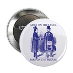 Meeting On the Level - Masonic Blue Button