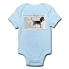 A Beagle's letter to you Body Suit