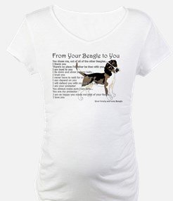 A Beagle's letter to you Shirt