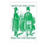 Meeting On the Level - Green Postcards (Package of