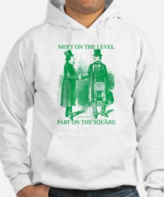 Meeting On the Level - Green Hoodie