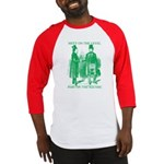Meeting On the Level - Green Baseball Jersey