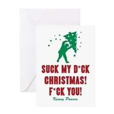 Kenny Powers Christmas Meltdown Greeting Cards