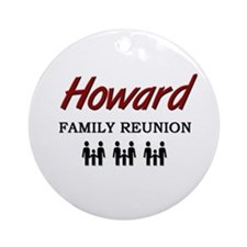 Howard Family Reunion Ornament (Round)