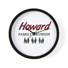 Howard Family Reunion Wall Clock