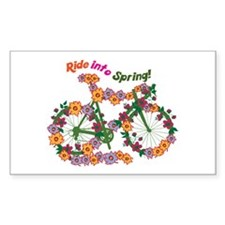 Ride Into Spring Decal