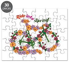 Ride Into Spring Puzzle