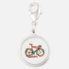Floral Bicycle Charms