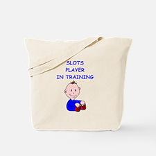 i love slot machines Tote Bag