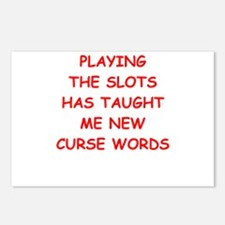 i love slot machines Postcards (Package of 8)