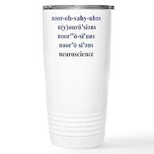 Unique Brain cancer Travel Mug