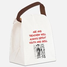 i love rugby Canvas Lunch Bag