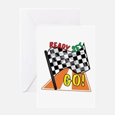 Ready Set Go Greeting Cards