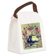 Time for tea Canvas Lunch Bag