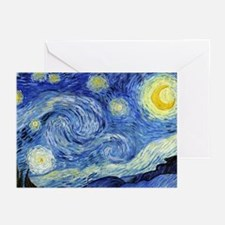 Starry Night by Vincent van Gogh Greeting Cards