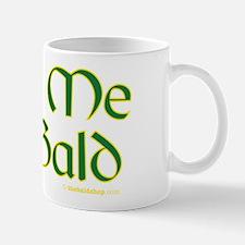 Kiss Me I'm Bald Mug
