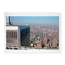 Twin towers - World trade center New York 1987 5'x