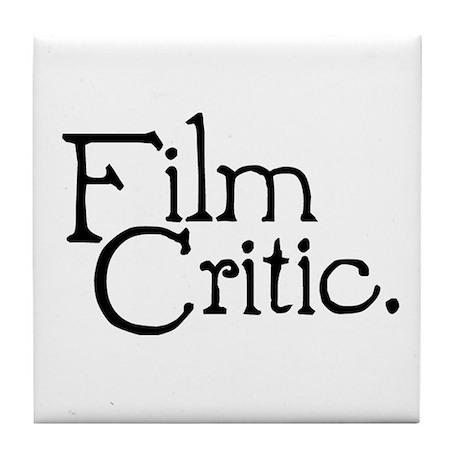 Film Critic Tile Coaster