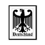 Deutschland - Germany National Symbol Framed Panel