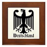 Deutschland - Germany National Symbol Framed Tile
