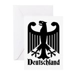 Deutschland - Germany National Symbol Greeting Car