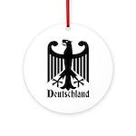 Deutschland - Germany National Symbol Ornament (Ro