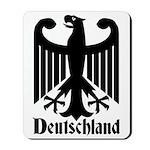 Deutschland - Germany National Symbol Mousepad