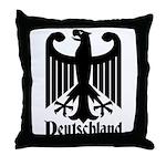 Deutschland - Germany National Symbol Throw Pillow