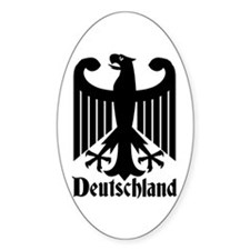 Deutschland - Germany National Symbol Decal