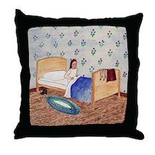 Izzie's Bedtime Throw Pillow