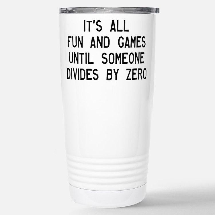 Cute Divide Travel Mug