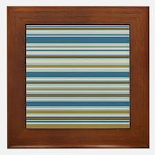 Stripes BBGC Framed Tile