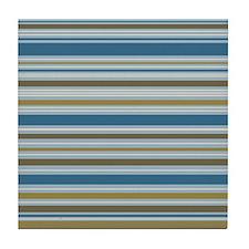 Stripes BBGC Tile Coaster
