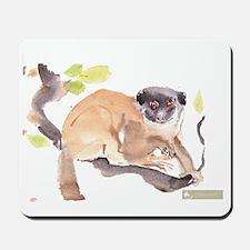 'silvio' Mongoose Lemur Mousepad