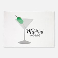 Martini Girl 5'x7'Area Rug