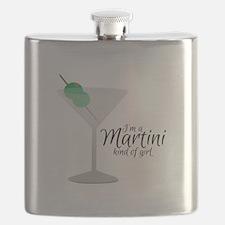 Martini Girl Flask