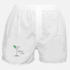 Martini Time Boxer Shorts